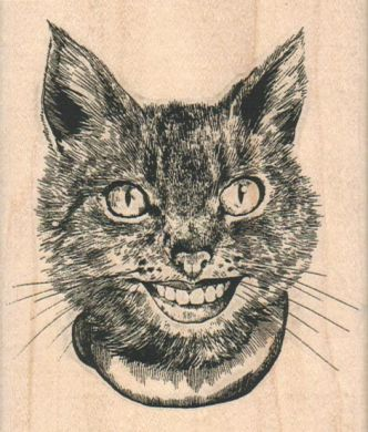 Smiling Cat/Medium 3 1/4 x 3 3/4-0