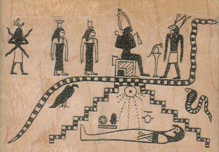 Egyptian Scene 3 x 2-0