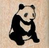 Panda Sitting 3/4 x 3/4-0