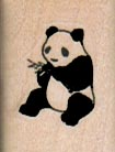 Panda Eating 3/4 x 1-0