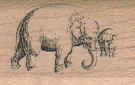 Elephants/Big & Small 1 1/4 x 1-0
