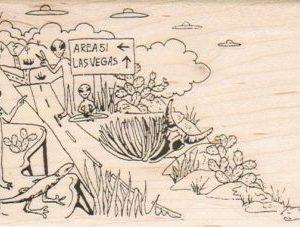 Area 51/Las Vegas Aliens 2 3/4 x 4 1/2-0