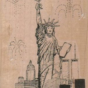 Statue of Liberty Toasting 2 3/4 x 3 1/2-0