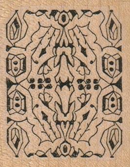 Intricate Design 2 x 2 1/2-0