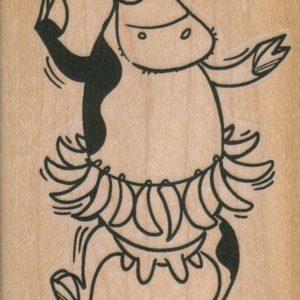 Banana Cow Dancer 2 1/4 x 3 1/4-0
