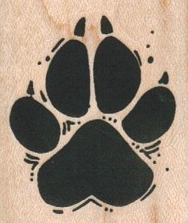 Animal FootPrint 1 1/2 x 1 3/4-0