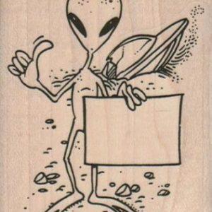 Stranded Alien 2 1/2 x 3-0