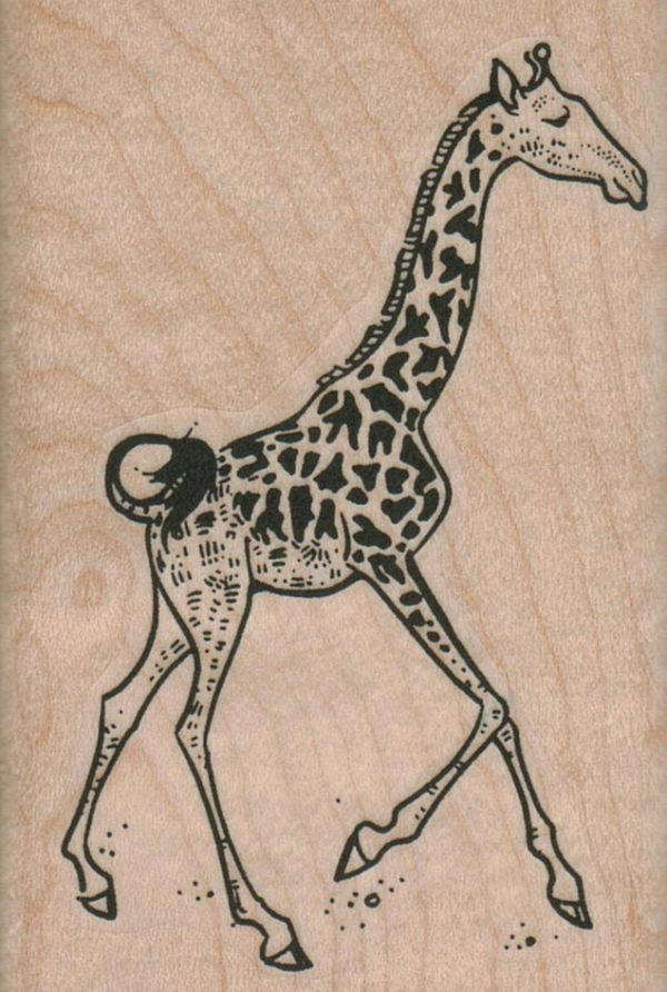 Running Giraffe 2 1/4 x 3 1/4-0