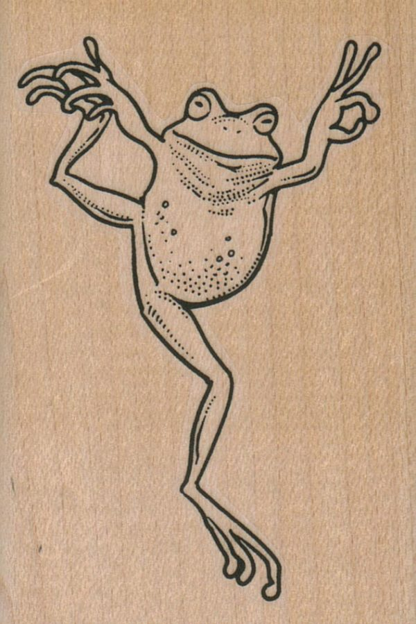 Posing Frog 2 1/4 x 3 1/4-0