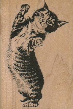 Sprawling Cat 1 3/4 x 2 1/2-0