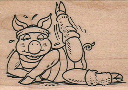 Exercising Pig 2 1/4 x 3-0