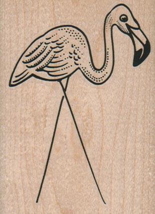 Lawn Flamingo 2 1/4 x 3-0