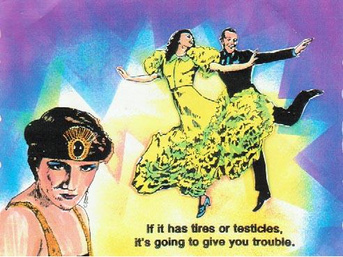 Dancing Fools 3 1/4 x 3-37724
