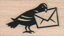 Pigeon With Envelope 1 x 1 1/2-0
