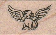 Dog Angel 1 x 1 1/4-0