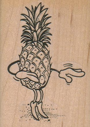 Ms Pineapple 2 1/4 x 3-0