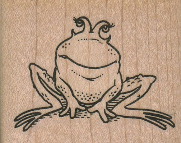 Sitting Frog 2 1/4 x 1 3/4-0