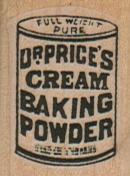 Dr. Price's Baking Powder 1 x 1 1/4-0