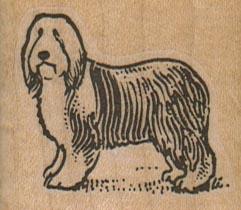 Sad SheepDog 1 3/4 x 1 1/2-0