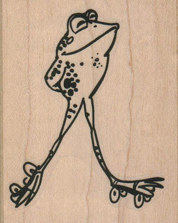 Skating Frog 2 1/4 x 2 3/4-0