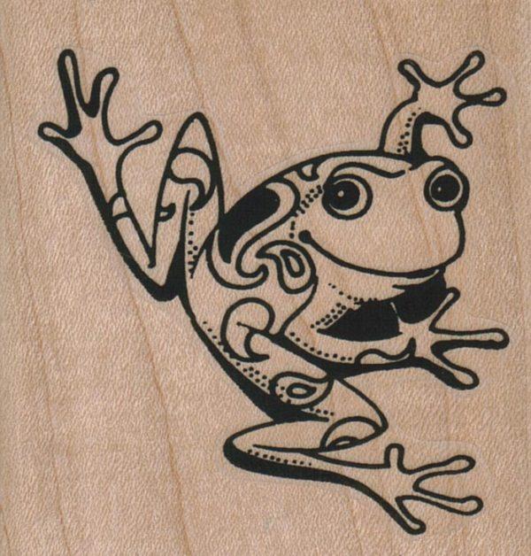 Paisley Frog 2 1/2 x 2 1/2-0