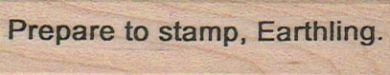Prepare To Stamp 3/4 x 2 3/4-0