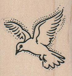 Bird In Flight 1 3/4 x 1 3/4-0