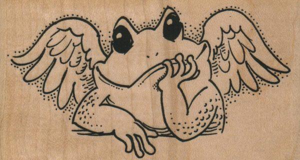 Frog Angel 3 3/4 x 2-0