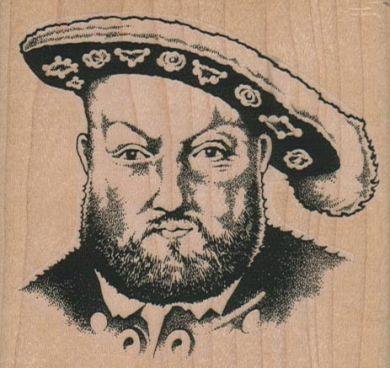 King Henry VIII 3 1/4 x 3-0