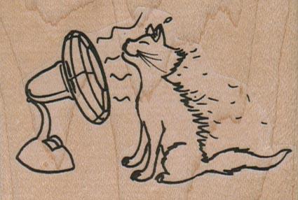 Cat With Fan 3 x 2-0