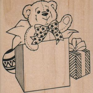 Bear In A Box 3 1/2 x 3 1/2-0