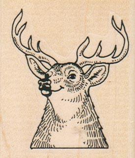 Deer Head Lips 2 x 2 1/4-0