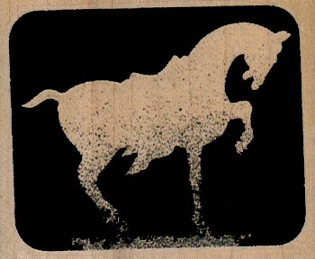 Terra Cotta Horse Silhouette 2 1/2 x 2-0