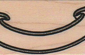 Fancy Ribbon Banner 1 1/2 x 3-0