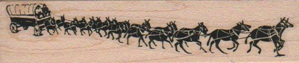 20 Mule Team Wagon 1 x 4 1/4-0