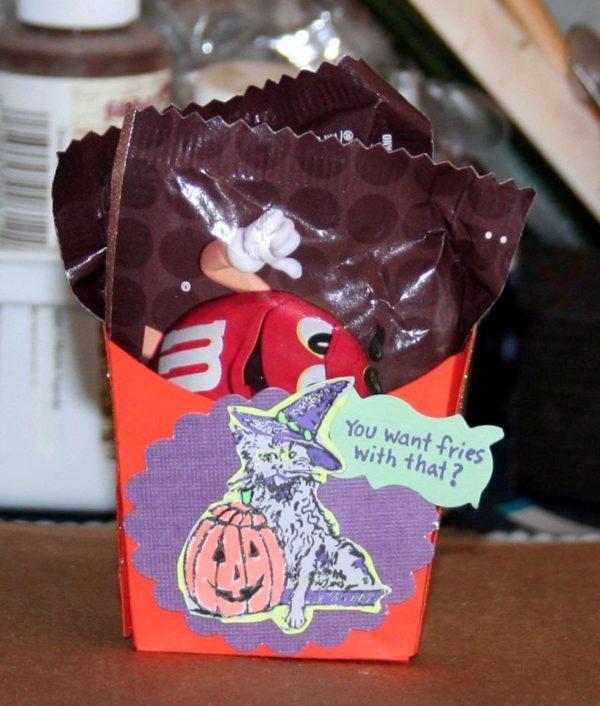 Halloween Kitty 1 3/4 x 2-32460