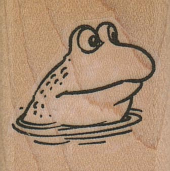 Frog In Water 1 1/4 x 1 1/4-0