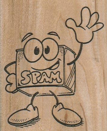 Spam Waving 2 1/2 x 3-0