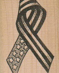 Ribbon/Stars & Stripes 1 3/4 x 2 1/2-0