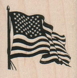 American Flag 2 x 2-0