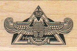 Eagle Symbol 1 1/4 x 1 3/4-0
