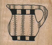 Striped Pitcher/Med 1 1/2 x 1 1/4-0