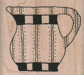 Striped Pitcher/Lg 2 x 1 3/4-0