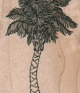 Palm Tree 2 x 2 3/4-0