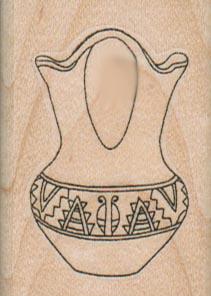 Southwestern Vase 1 1/2 x 2-0