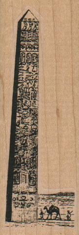 Egyptian Obelisk And Camel 1 1/4 x 3 1/4