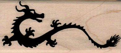 Stylized Dragon Large 11/2 x 3 1/4-0