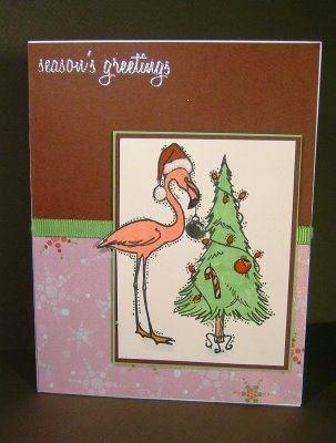 Flamingo Decorating Tree 3 x 3 1/2-32384