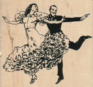 Dancing Fools 3 1/4 x 3-0