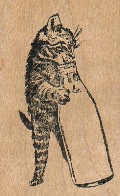 Kitten 'N' Bottle 1 3/4 x 2 3/4-0